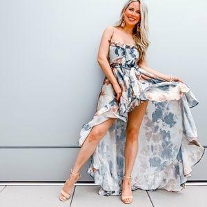 Silky tie dye dress!